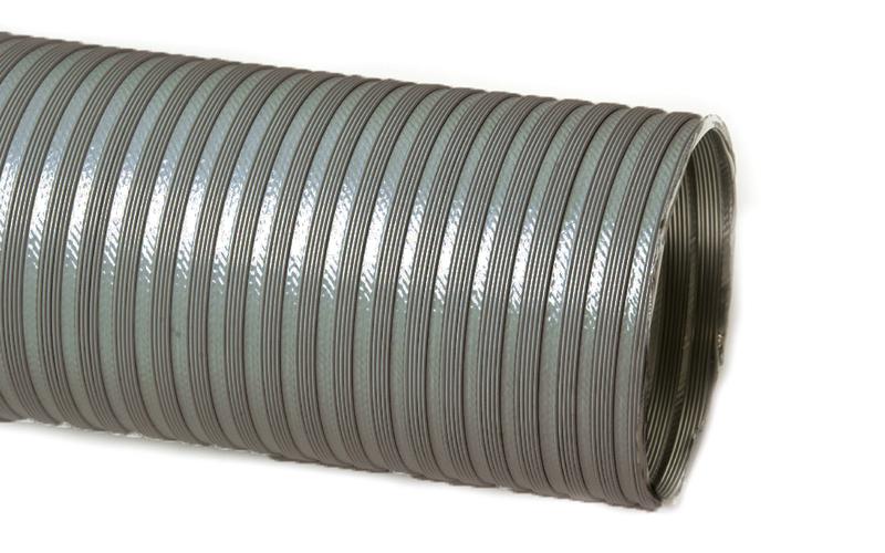 Tubo flessibile estensibile in alluminio non verniciato da 0 85 a 3 ml da 150 c e r m e srl - Tubo flessibile gas cucina normativa ...